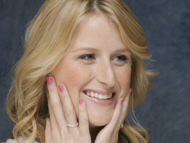 Mamie Gummer, a devoted actress