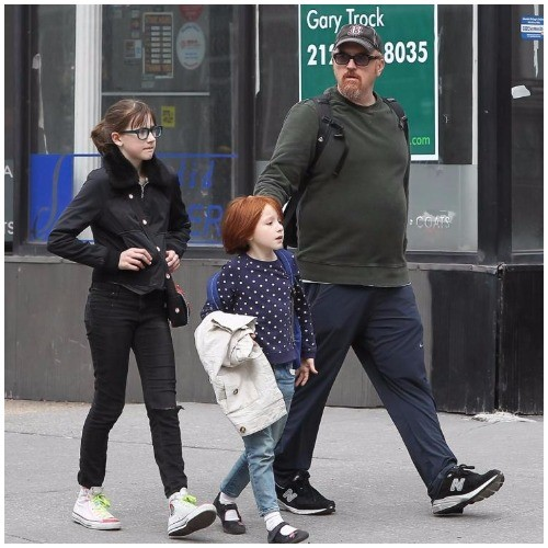 Alix Bailey and Louis C.K